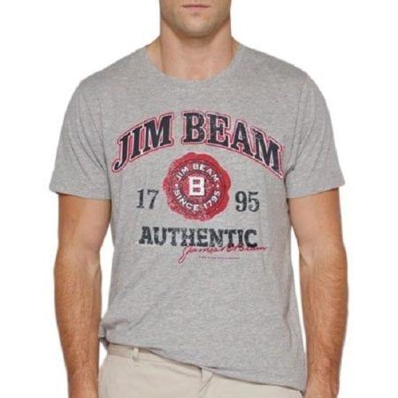 JIM-BEAM-T-Shirt-Grey-Tee-Top-Size-S-M-L-XL-XXL-3XL-Plus-Offical-222339090841