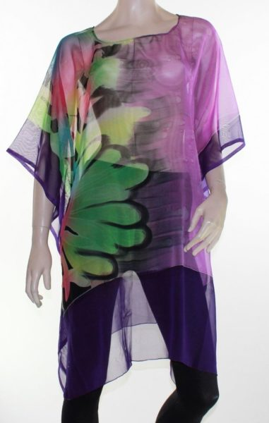 Kaftan-Dress-Caftan-Long-Plus-Size-10-30-Women-Colourful-Sheer-Resort-Cover-Up-222292619037