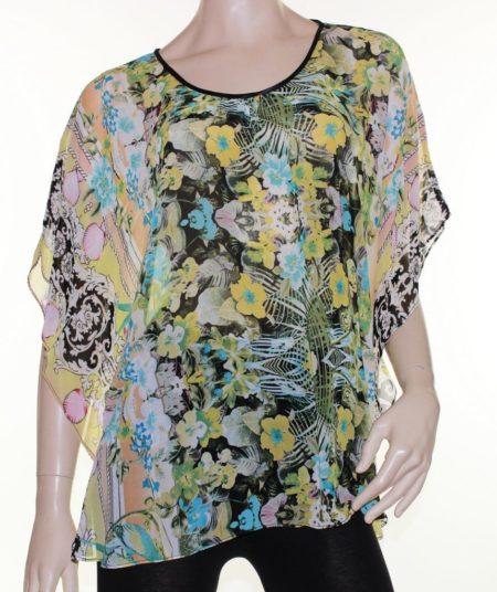 Kaftan-Top-Caftan-Blouse-Batwing-Plus-Size-8-26-Women-Sheer-Resort-Cover-Up-222291488832