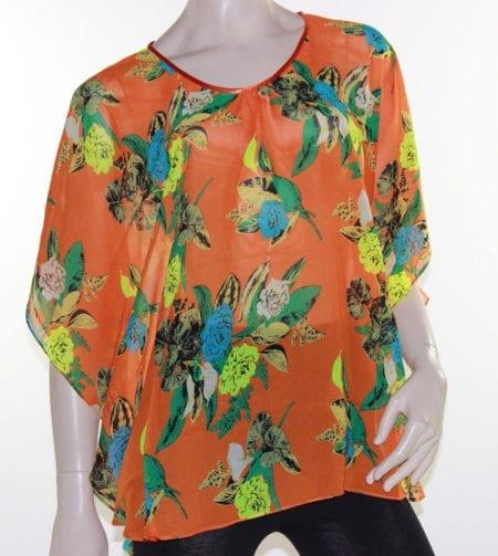 Kaftan-Top-Caftan-Blouse-Batwing-Plus-Size-8-26-Women-Sheer-Resort-Cover-Up-222450091289