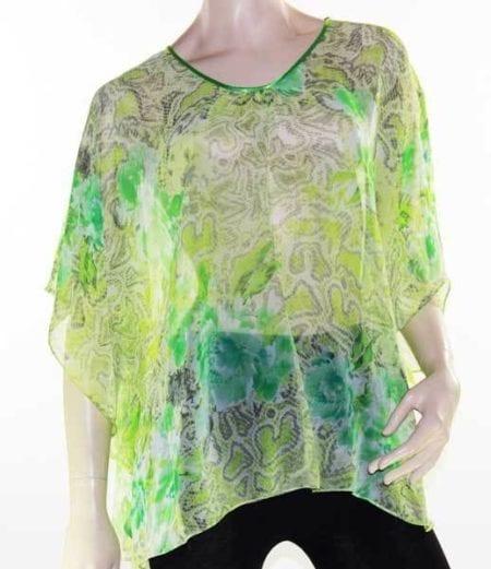 Kaftan-Top-Caftan-Blouse-Batwing-Plus-Size-8-26-Women-Sheer-Resort-Cover-Up-222453981565