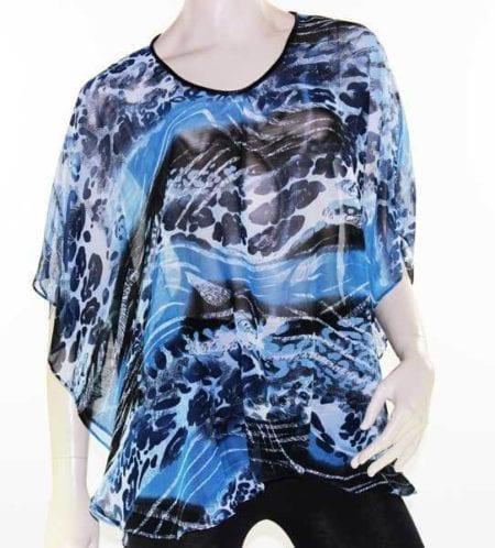 Kaftan-Top-Caftan-Blouse-Batwing-Plus-Size-8-26-Women-Sheer-Resort-Cover-Up-222454008757