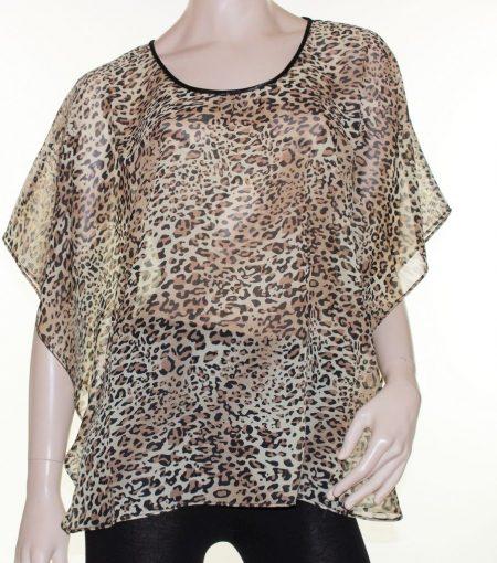Kaftan-Top-Caftan-Blouse-Batwing-Plus-Size-8-26-Women-Sheer-Resort-Cover-Up-322304111329