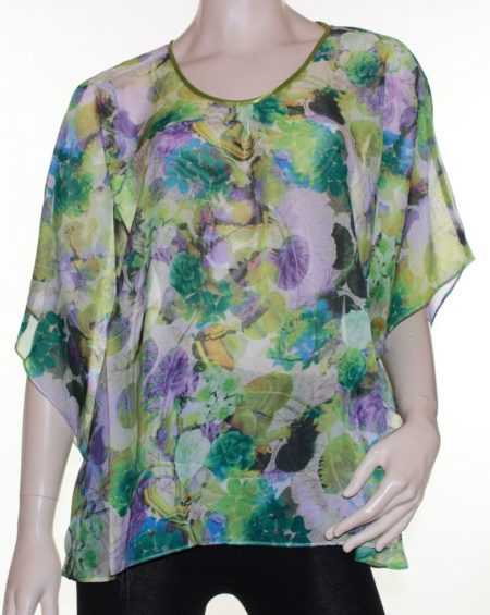 Kaftan-Top-Caftan-Blouse-Batwing-Plus-Size-8-26-Women-Sheer-Resort-Cover-Up-322304211709
