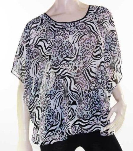 Kaftan-Top-Caftan-Blouse-Batwing-Plus-Size-8-26-Women-Sheer-Resort-Cover-Up-322465365516