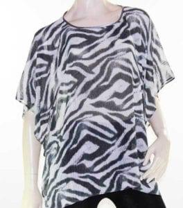 Kaftan Top Caftan Blouse Batwing Plus Size 8 – 26 Women Sheer Resort Cover Up