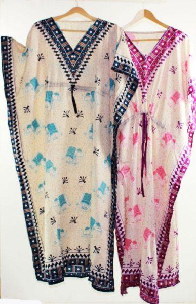 Maxi-Kaftan-Dress-Caftan-Sz-8-20-Women-Paisley-Long-Beach-Cover-Up-Tribal-322048871964