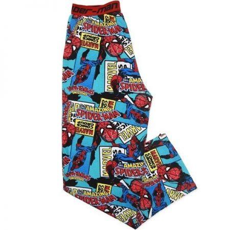 Men-Spiderman-PJ-Pants-Pyjamas-Lounge-Licensed-Marvel-Comics-Size-S-XXL-Sleep-322301121325