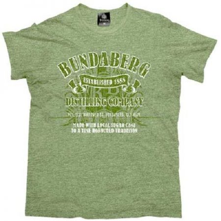 BUNDABERG-Rum-T-Shirt-Green-Marle-Mens-Tee-Top-Size-S-M-L-XL-2XL-3XL-Licensed-222105957032