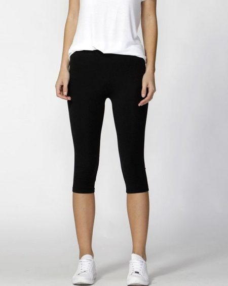 Beyonce 3/4 Leggings by BETTY BASICS Size 8 10 12 14 16 18 Casual Black