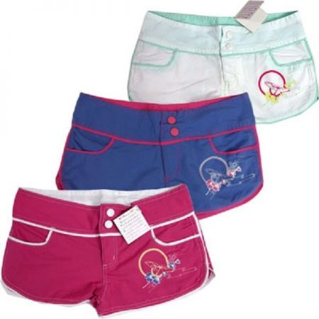 Board-Shorts-Boardies-Size-8-10-12-14-16-Girls-Pink-Blue-White-Swimwear-Bathers-221674067111