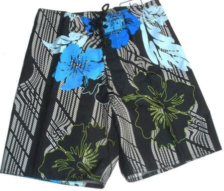 Boardies Board Shorts Sz 38 42 MENS Blue Tropical  Swim Surf Blue White