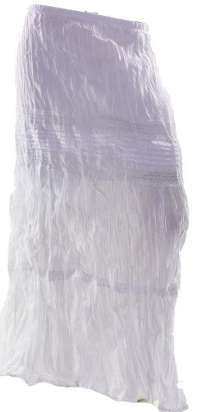 CROSSROADS-Maxi-Skirt-White-Crinkle-Lace-Lined-Plus-Size-8-10-12-14-16-18-20-22-221696423702