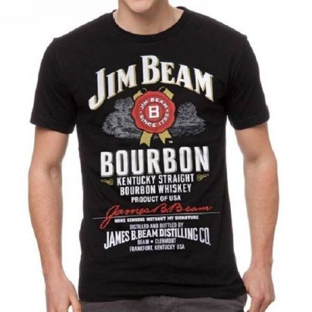 JIM-BEAM-T-Shirt-Black-Tee-Top-Size-S-M-L-XL-XXL-3XL-Plus-Offical-322353048913