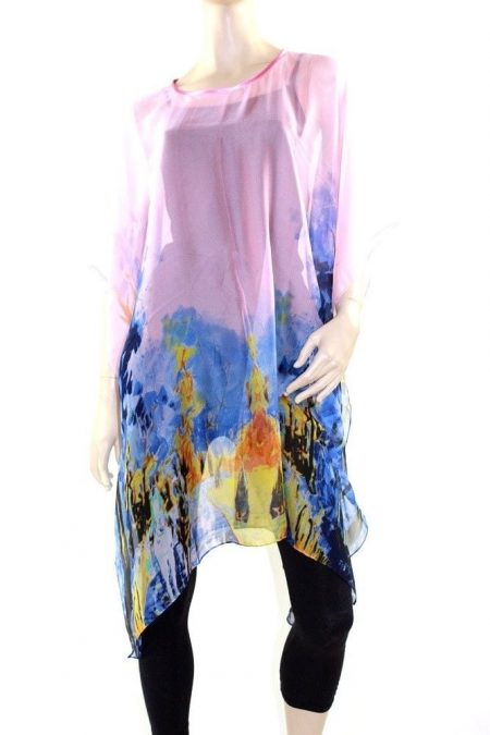 Kaftan Dress Caftan Long Plus Size 10 - 28 Women Colourful Sheer Resort Cover Up