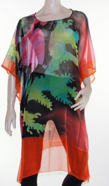 Kaftan-Dress-Caftan-Long-Plus-Size-10-30-Women-Colourful-Sheer-Resort-Cover-Up-322305284636