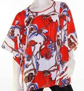 Kaftan Top Caftan Blouse Batwing Plus Size 8 – 26 Women Resort Wear Cover Up