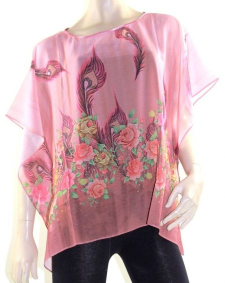 Kaftan Top Caftan Blouse Batwing Plus Size 8 - 26 Women Resort Wear Cover Up