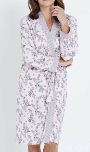 MILLERS Bath Robe Plus Size 12/14 16/18 20/22 Pink Sleepwear Dressing Gown