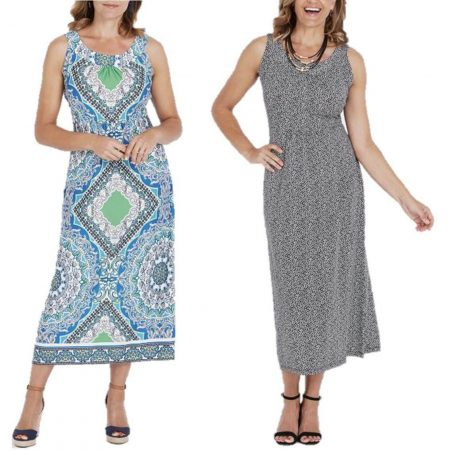 MILLERS Maxi Dress Plus Size 12 14 16 18 20 22 Black Blue Paisley Long