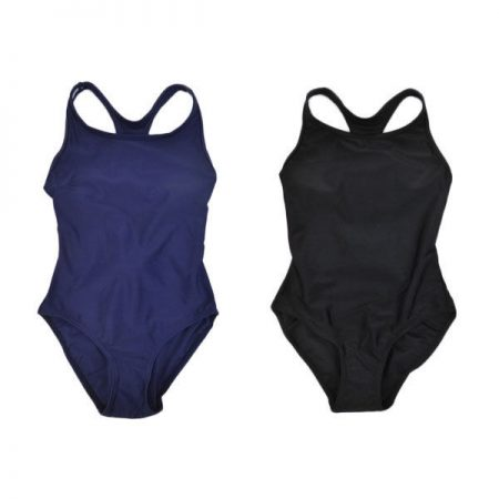 One-Piece-Bathers-Swimwear-Racer-Action-Girl-SUNSTAR-Navy-Black-Sz-8-10-12-14-221776802988