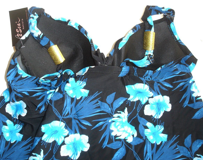 82a8b129009 ... 16 18 20 22 24 26 Tankini Blue Black Tropical Bather Swimwear Plus  Women Return to Previous Page. lightbox · lightbox · lightbox · lightbox ·  lightbox