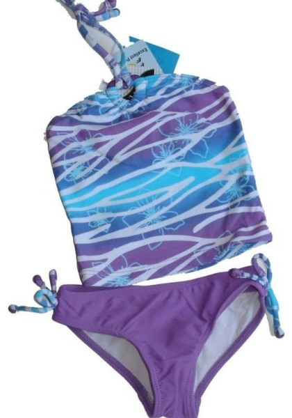 Size-3-Girls-COSMIC-GIRL-Purple-Blue-Wave-Tankini-Swimwear-Bathers-320630518825