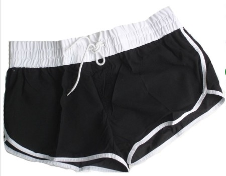 Size 12 14 16 18 20 Board Shorts Boardies Black White Bubble Bathers Swimwear