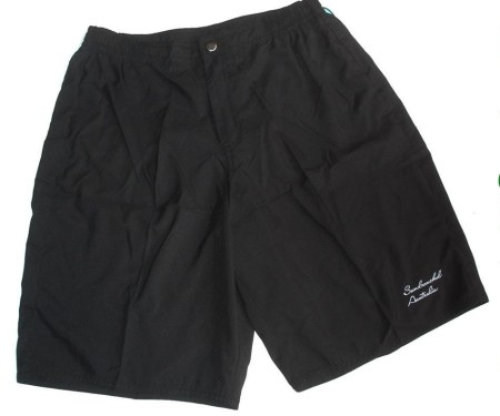 Plus Size 18 20 22 24 26 28 Black Board Shorts Boardies Bathers Swimwear