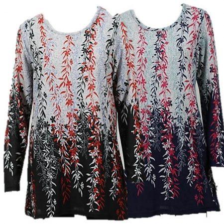 Tunic Jumper Top LILIA WHISPERS Plus Size 10 12 14 16 18 Women Long Sleeve